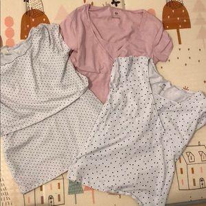 H&M Mama Maternity Nursing Short Sleeve Shirts (3)